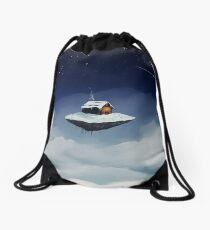 Isolated Drawstring Bag