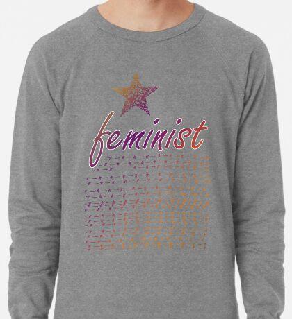 Feminist Star Lightweight Sweatshirt