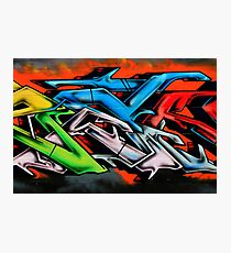 Big City Freaks Graffiti  - part 2 Photographic Print