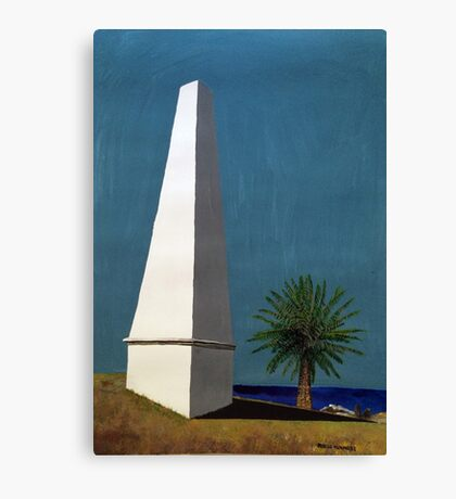 Newcastle Obelisk by Margo Humphries Canvas Print