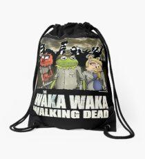 The Waka Waka Walking Dead Drawstring Bag