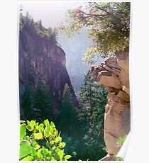Mist Trail Views Poster
