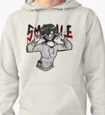 "Jeff The Killer "" SMILE"" Pullover Hoodie"