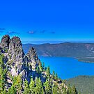 THE CALDERA FROM 8000 FEET by Joe Powell