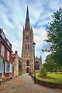St Wulfram's Church, Grantham. by Ray Clarke