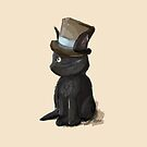 Cat In A Hat Gentleman Kitty by BunnyMaelstrom