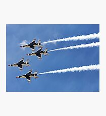 Air Force Thunderbirds Photographic Print