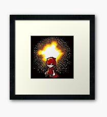 Calvin And Hobbes Superhero Framed Print