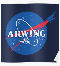 Arwing Poster