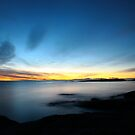 last winter sunrise. bicheno, tasmania by tim buckley | bodhiimages