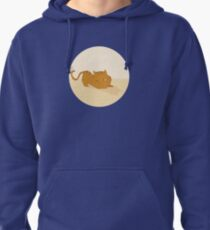 Playful cat Pullover Hoodie