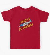 Daddy's Little Wingman Kids Tee