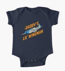 Daddy's Little Wingman One Piece - Short Sleeve