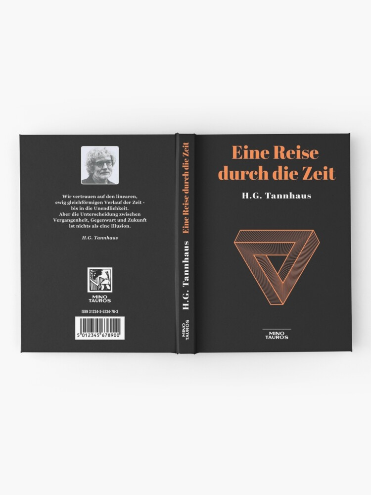 Alternate view of Eine Reise durch die Zeit - H.G. Tannhaus - Buch book DARK netflix Hardcover Journal