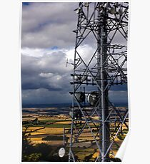 The Wrekin Communications Tower Poster