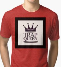 Trap Queen Fetty Wap Tri-blend T-Shirt