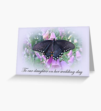 To Daughter on Her Wedding Day Card Greeting Card