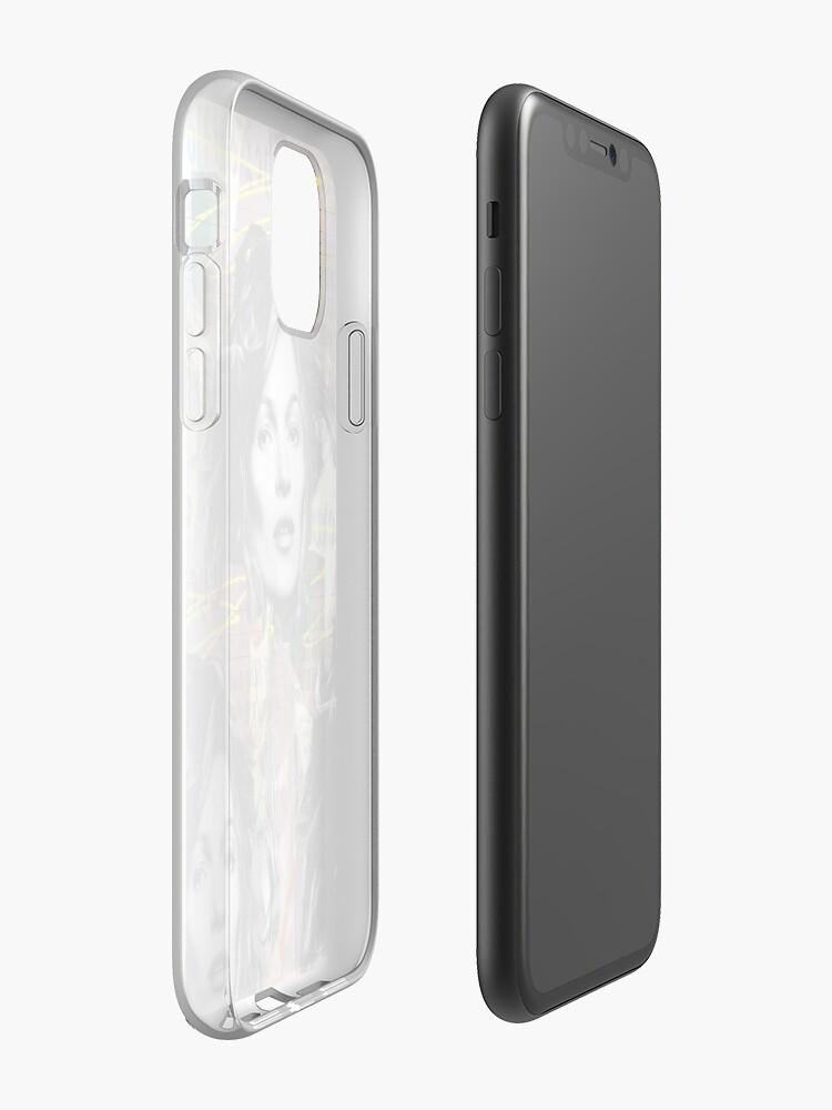 Coque iPhone «Kate Moss et Biggie», par nickbyer