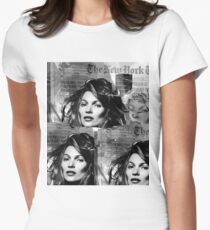 kate moss Women's Fitted T-Shirt