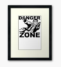 Archer Danger Zone FX TV Funny Cartoon Cotton Blend Adult T Shirt Framed Print