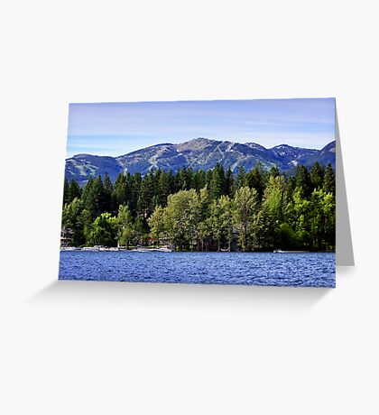 Big Mountain (Whitefish, Montana, USA) Greeting Card