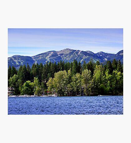 Big Mountain (Whitefish, Montana, USA) Photographic Print