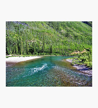 Fishing Paradise (Glacier National Park, Montana, USA) Photographic Print