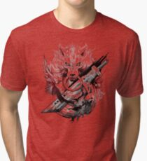 Final Fantasy Amano Homage Tri-blend T-Shirt
