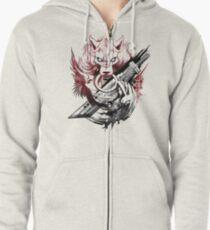 Final Fantasy Amano Homage Zipped Hoodie