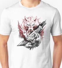 Camiseta ajustada Final Fantasy Amano Homenaje