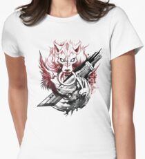 Final Fantasy Amano Homage Women's Fitted T-Shirt