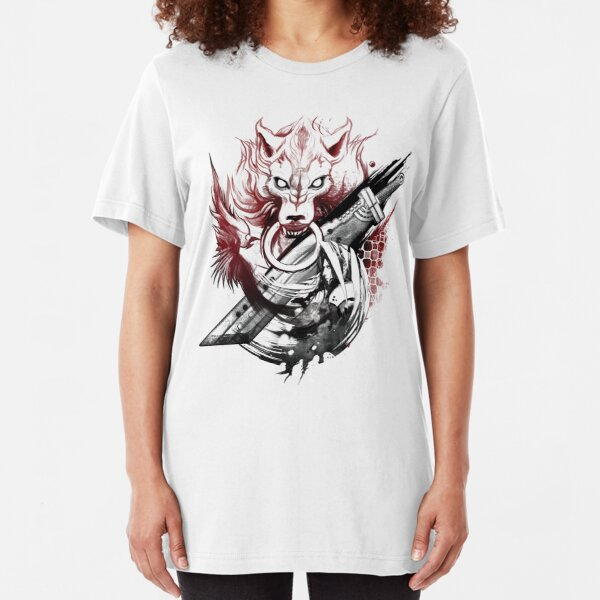 Final Fantasy Amano Homage Slim Fit T-Shirt