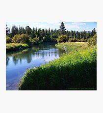 Whitefish River (Whitefish, Montana, USA) Photographic Print