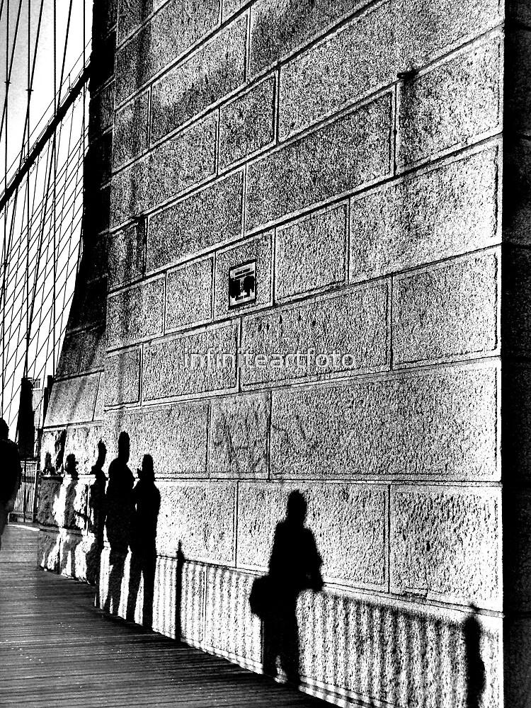 NYC Silver Walk by infiniteartfoto