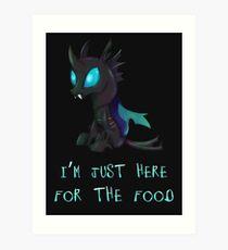 My Little Pony - MLP - Changeling Art Print