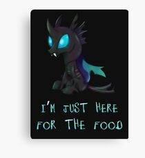 My Little Pony - MLP - Changeling Canvas Print