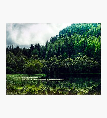 Reflections On Loch Chon, Scotland Photographic Print