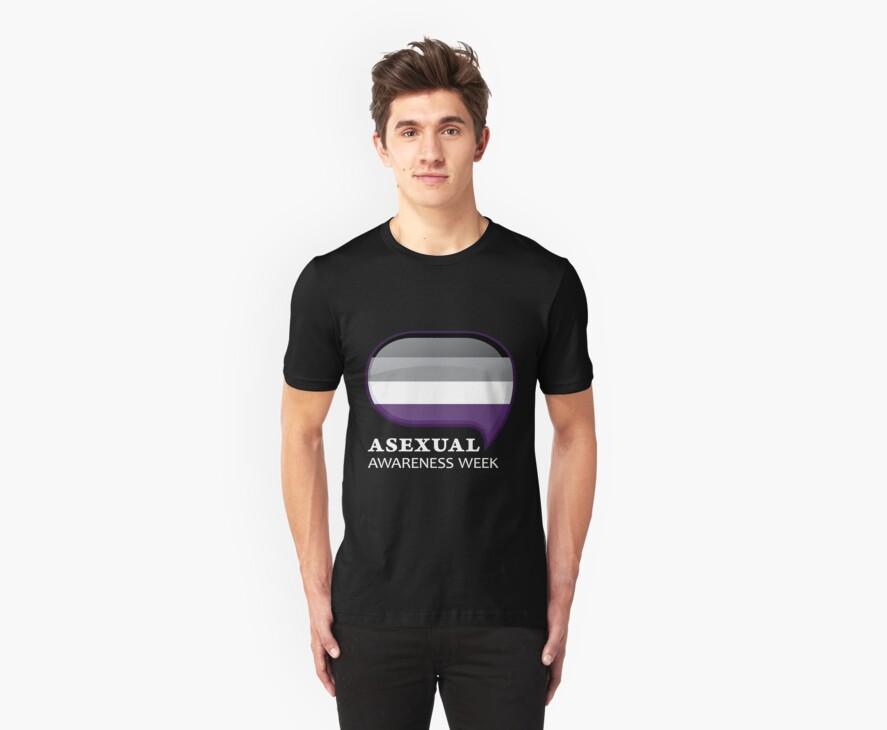 AAW Logo (Dark) by Asexual Awareness Week