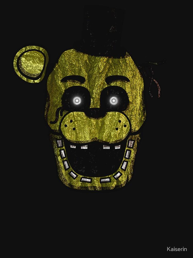 Five Nights at Freddy's - FNAF 3 - Phantom Freddy by Kaiserin