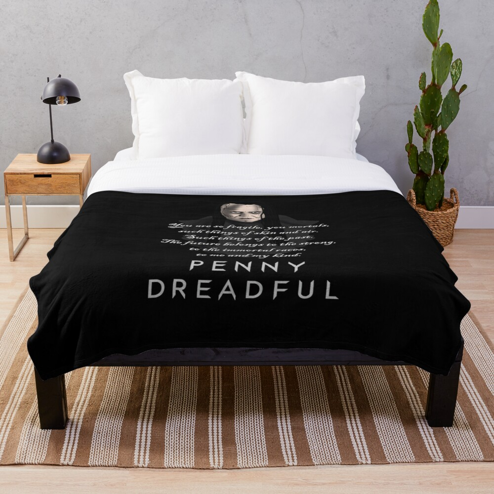 Penny Dreadful: John Claire  Throw Blanket