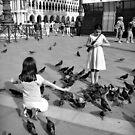 Girls with birds by Karen E Camilleri
