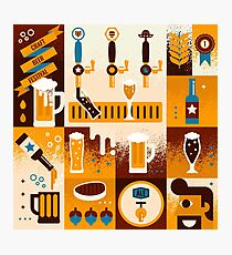 Craft Beer Concept Photographic Print