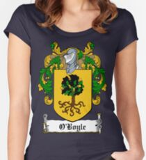 O'Boyle (Donegal)  Women's Fitted Scoop T-Shirt