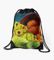 Squashes Drawstring Bag