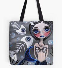 """My Skellyfish Friends"" Tote Bag"
