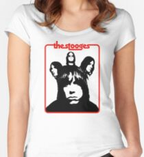 The Stooges Shirt Women's Fitted Scoop T-Shirt