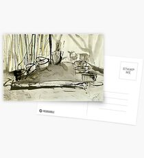 stump circle Postcards