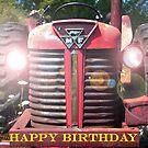 Big M - F Birthday Card by BobJohnson
