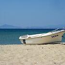 At the beach by Maria1606