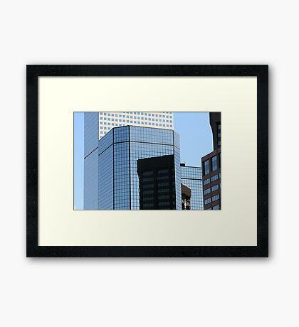 Reflective Denver Framed Print